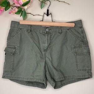 Ralph Lauren Polo Jeans Cargo Shorts Womens Sz 8